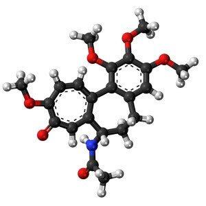 молекулярное строение колхицина