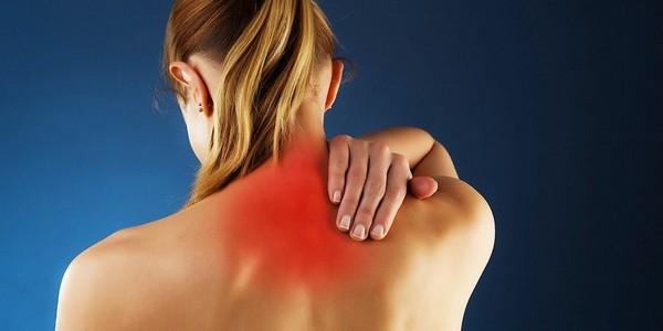место локализации боли при миозите мышц шеи