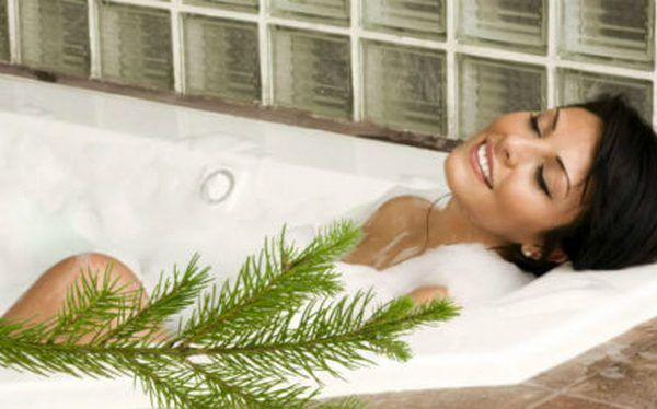 лечебная ванна с сосновым отваром