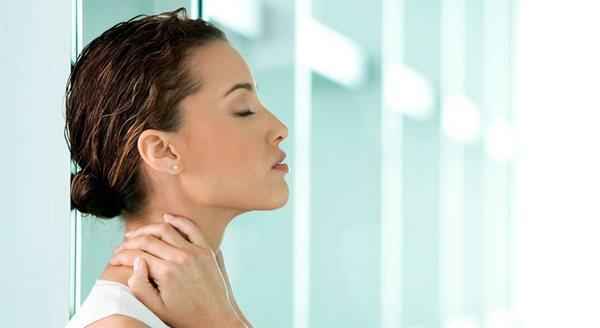 локализация боли в шее