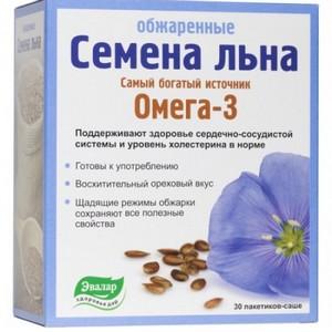 состав семян льна аптечный