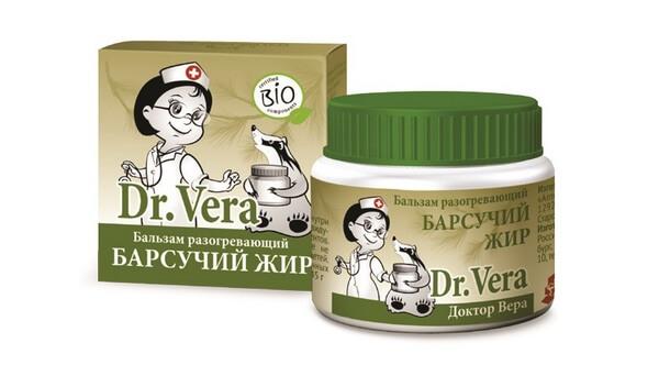 Dr.Vera барсучий жир лечебные свойства и противопоказания