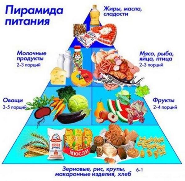 продуктовая пирамида
