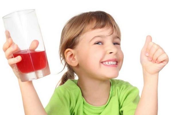 чай каркаде для детей