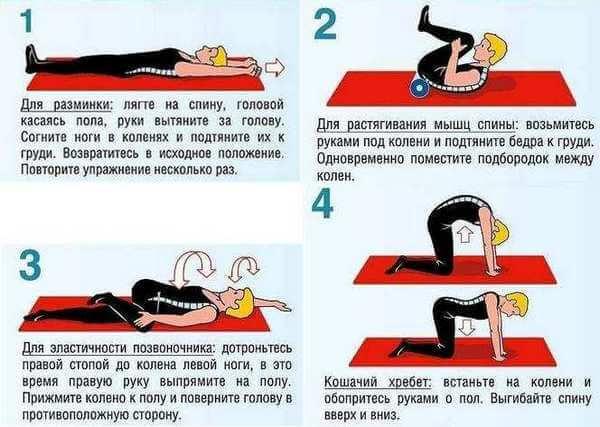 лечебная гимнастика при защемлении нерва