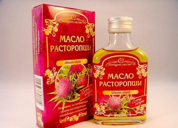 масло из расторопши