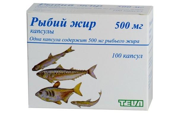 рыбий жир тева