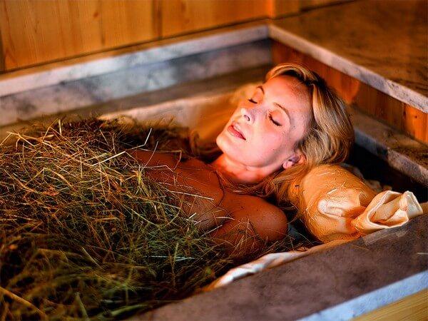 лечебная ванна с травами