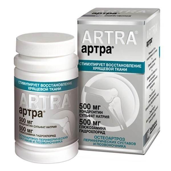 Артра – инструкция по применению таблеток, отзывы, цена, аналоги