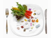 таблетки на тарелке