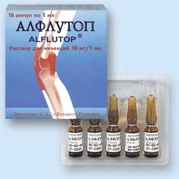 алфлутоп инструкция по применению в уколах