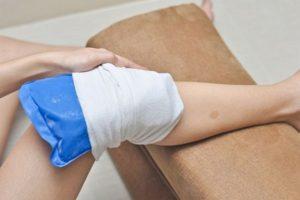 компресс на больное колено