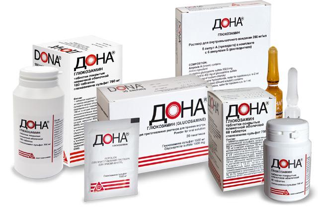 состав, формы выпуска препарата Дона