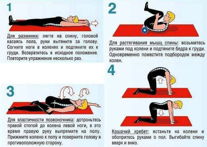 гимнастика при воспалении седалищного нерва