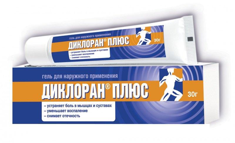 Диклоран плюс 30,0 гель - цена 228 руб., купить в интернет аптеке в Томске Диклоран плюс 30,0 гель, инструкция по применению, отзывы