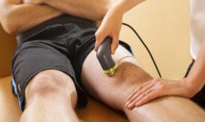 Острый серозный артрит коленного сустава